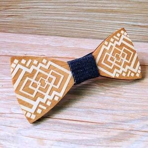 Other - 🎯 Unique Wooden Bow tie ⚜️